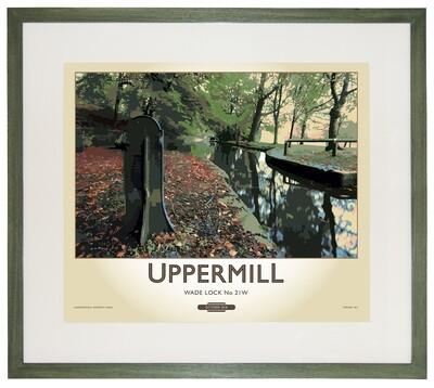 Framed Fine Art Print - Uppermill