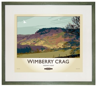 Framed Fine Art Print - Wimberry Crag