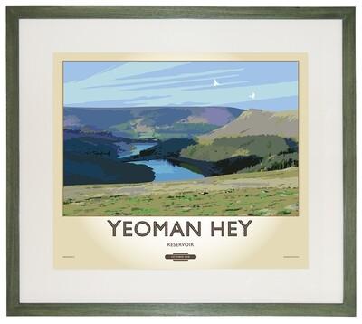 Framed Fine Art Print - Yeoman Hey Reservoir