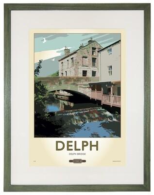 Framed Fine Art Print Saddleworth - Delph