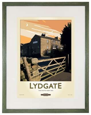 Framed Fine Art Print Saddleworth - Lydgate