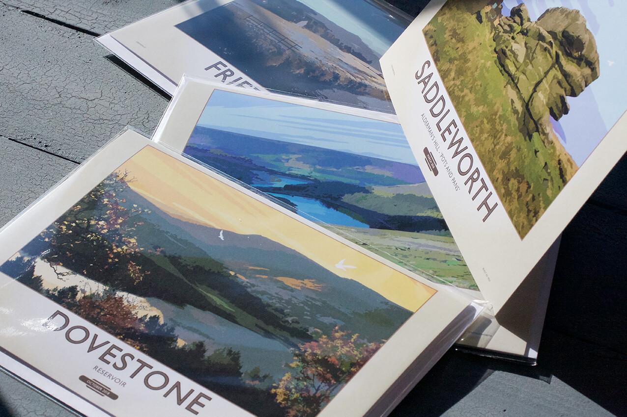 Greetings Card Pack of 3 - Saddleworth Set 1