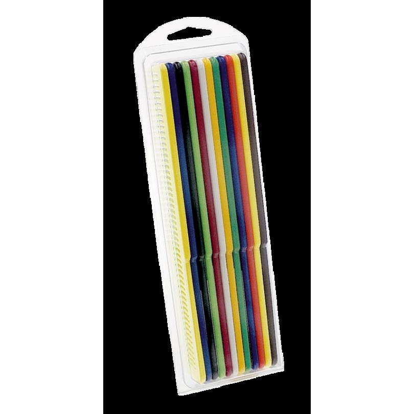 Набор цветных расчесок Wahl 12 шт.