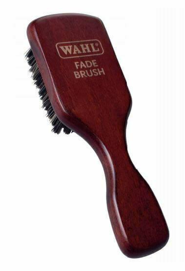 Щетка для фейдинга Wahl Fade Brush из натурального дерева