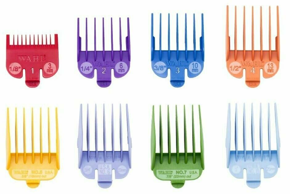 Набор пластиковых цветных насадок Wahl Color Coded