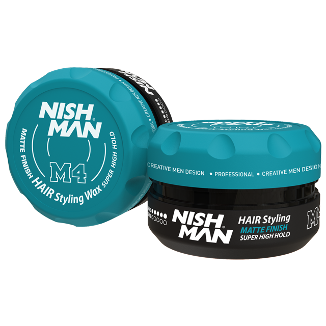 Воск для укладки волос на водной основе NISHMAN M4 MATTE FINISH 100 мл.