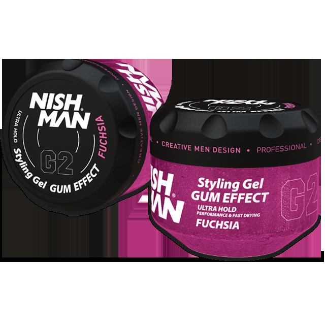 Гель для укладки волос NISHMAN G2 FUCHSIA 300 мл.