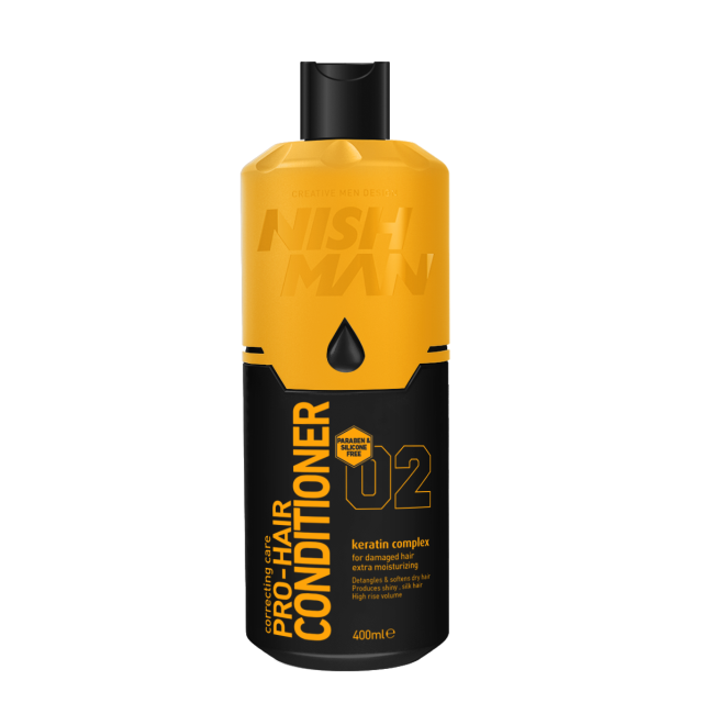 Кондиционер для волос NISHMAN 02 KERATIN COMPLEX 400 мл.