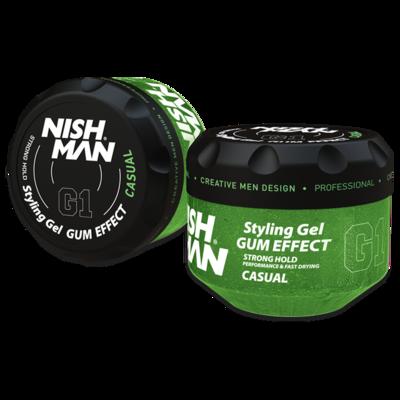 Гель для укладки волос NISHMAN G1 CASUAL 300 мл.