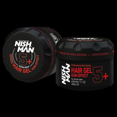Гель для укладки волос NISHMAN 5+ GUM EFFECT 750 мл.