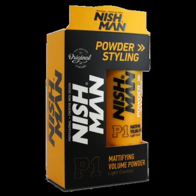 Пудра для укладки волос NISHMAN P1 20 гр.