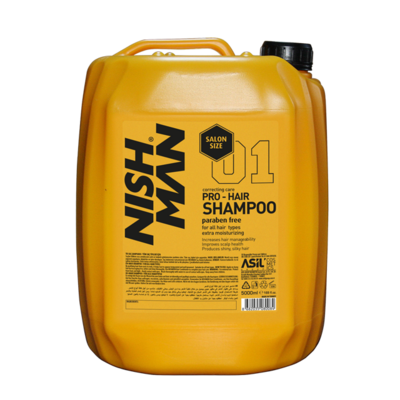 Шампунь для волос NISHMAN 01 PARABEN FREE 5000 мл.