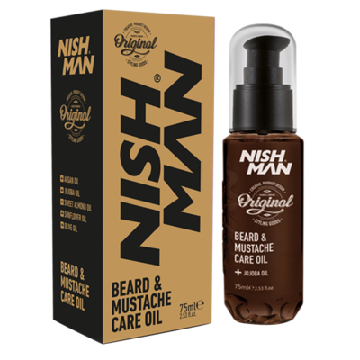 Масло для бороды и усов NISHMAN CARE OIL 75 мл.