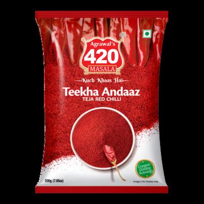 420 Teekha Andaaz Red Chilli Powder (Teja Mirchi)