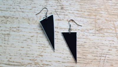 Upcycled / Handmade VK Earrings