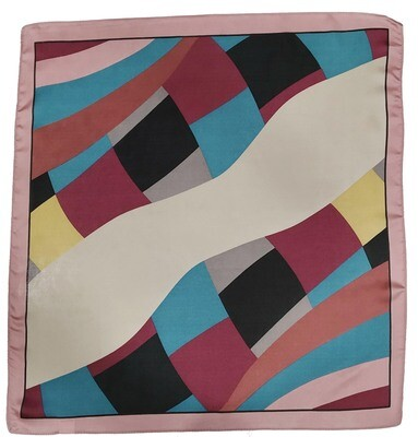 printed satin bandanas