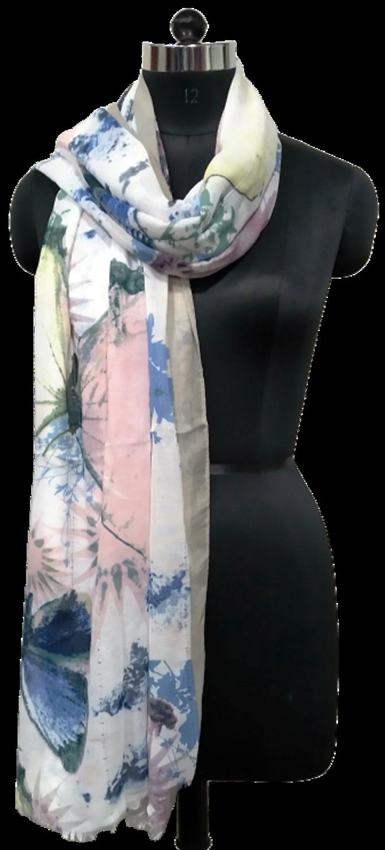 printed large scarf