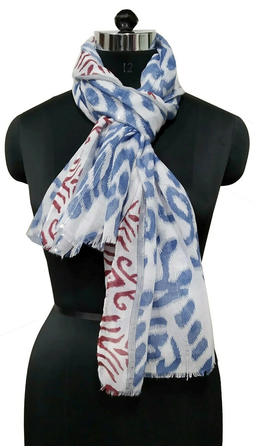 printed large scarf