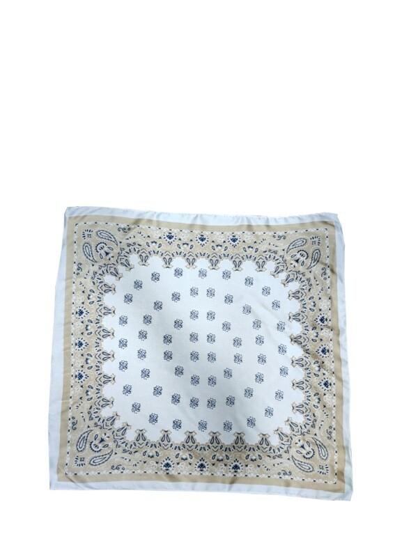 Soft satin Printed Neck Scaarves