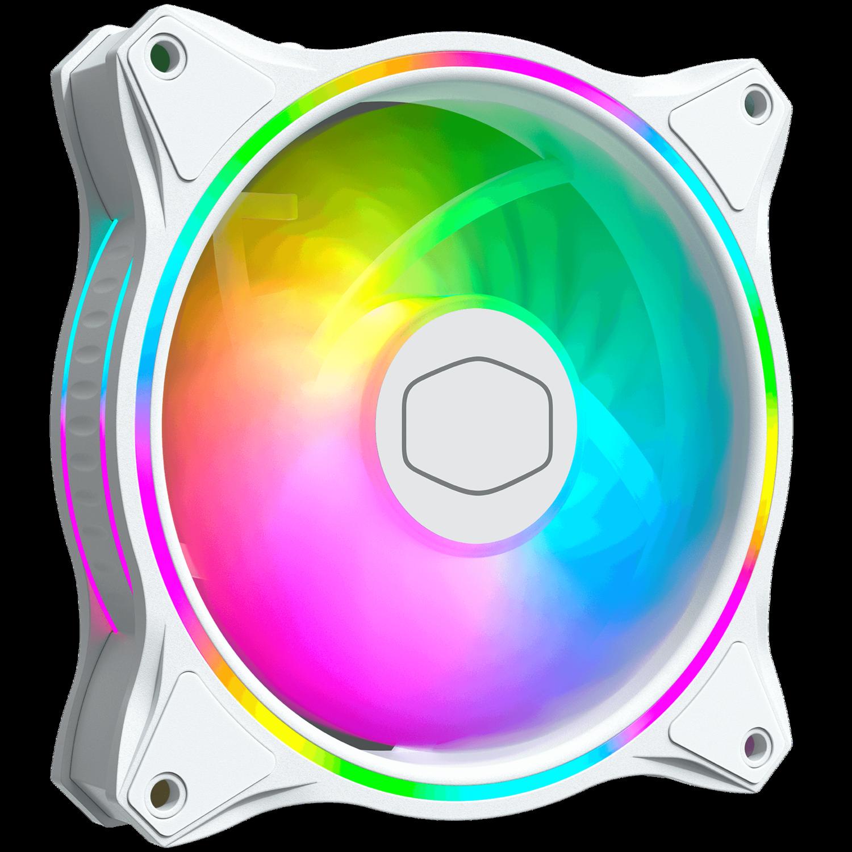 MasterFan MF120 Halo White Edition