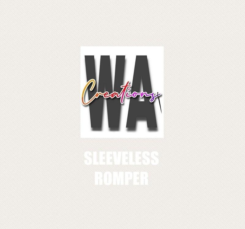 Sleeveless Romper