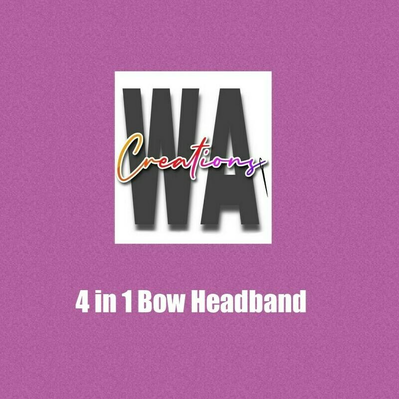 4 in 1 Bow Headband