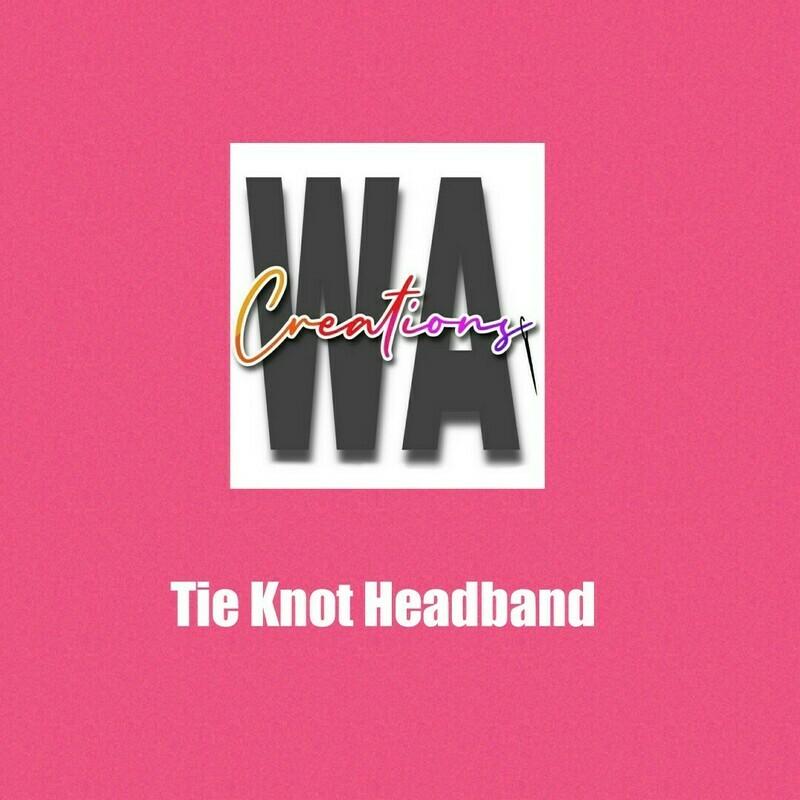 Tie Knot Headband