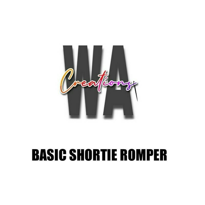 Basic Shortie Romper