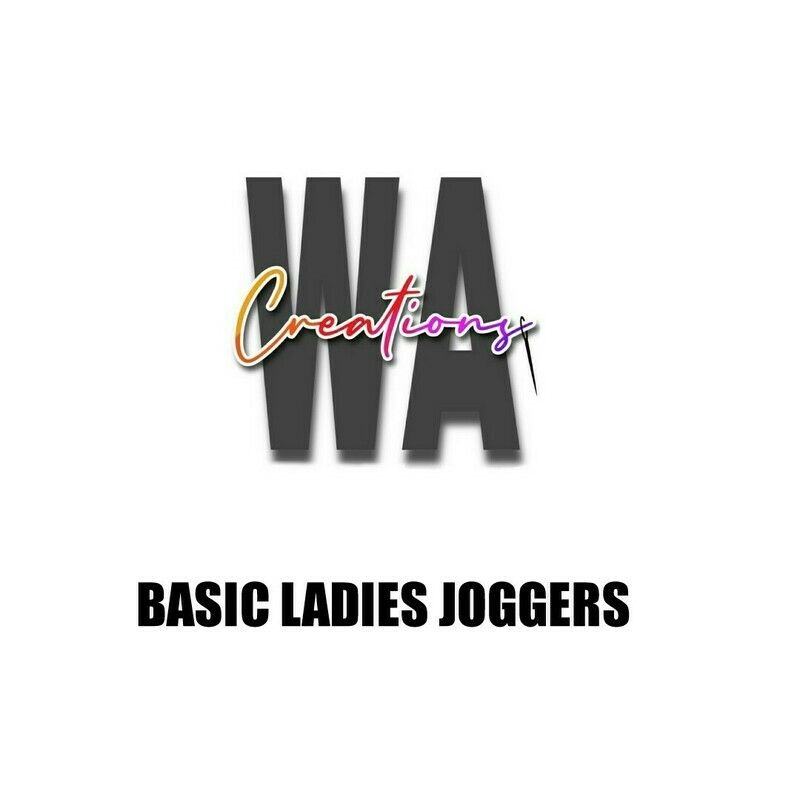 Basic Ladies Regular Joggers