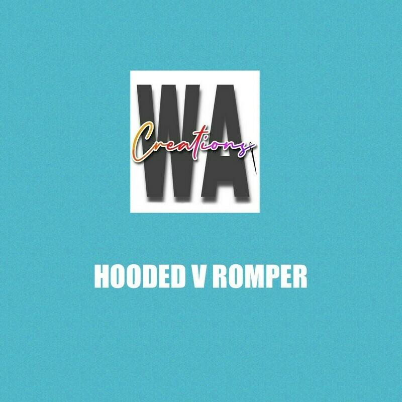 Hooded V Romper