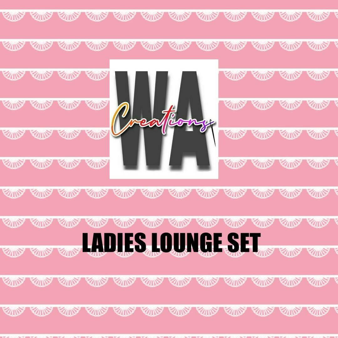 Ladies Lounge Set