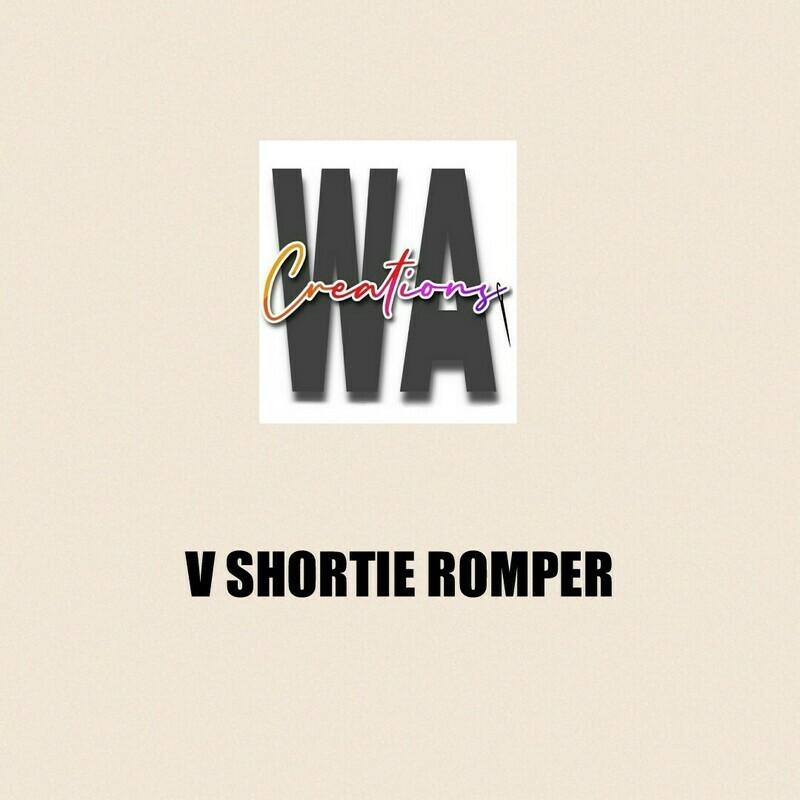 V Shortie Romper