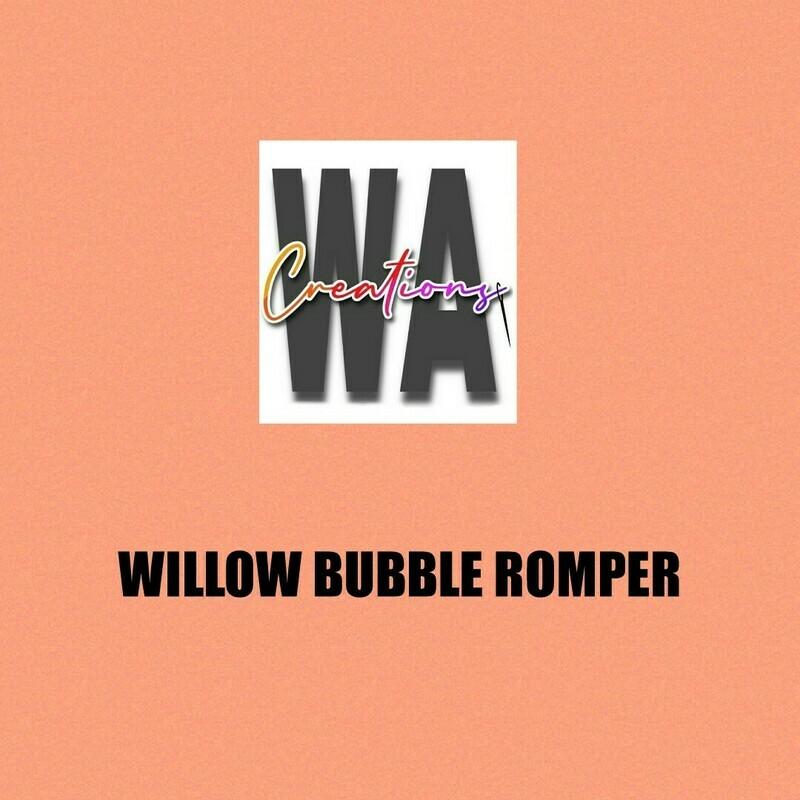 Willow Bubble Romper