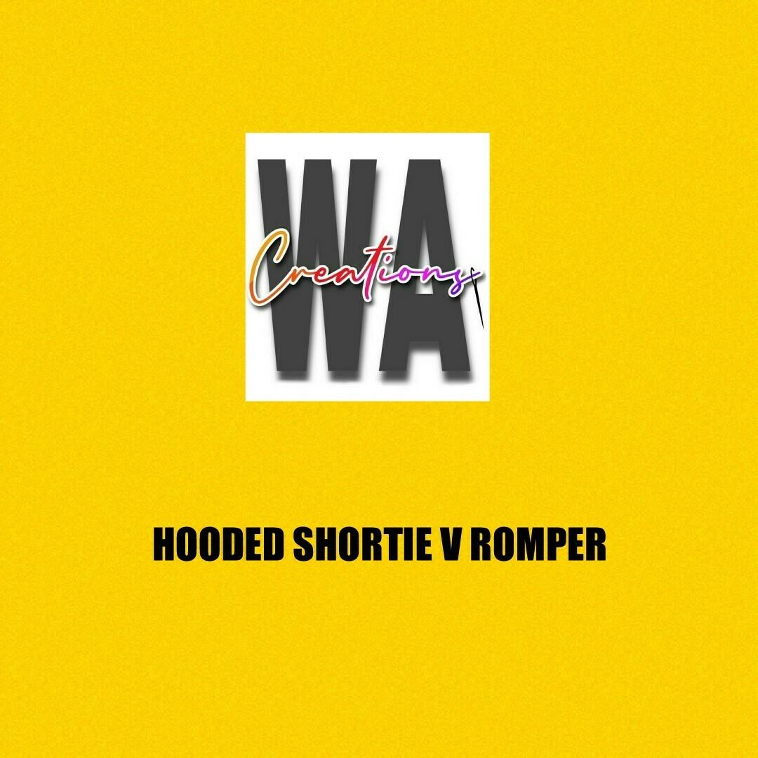 Hooded Shortie V Romper