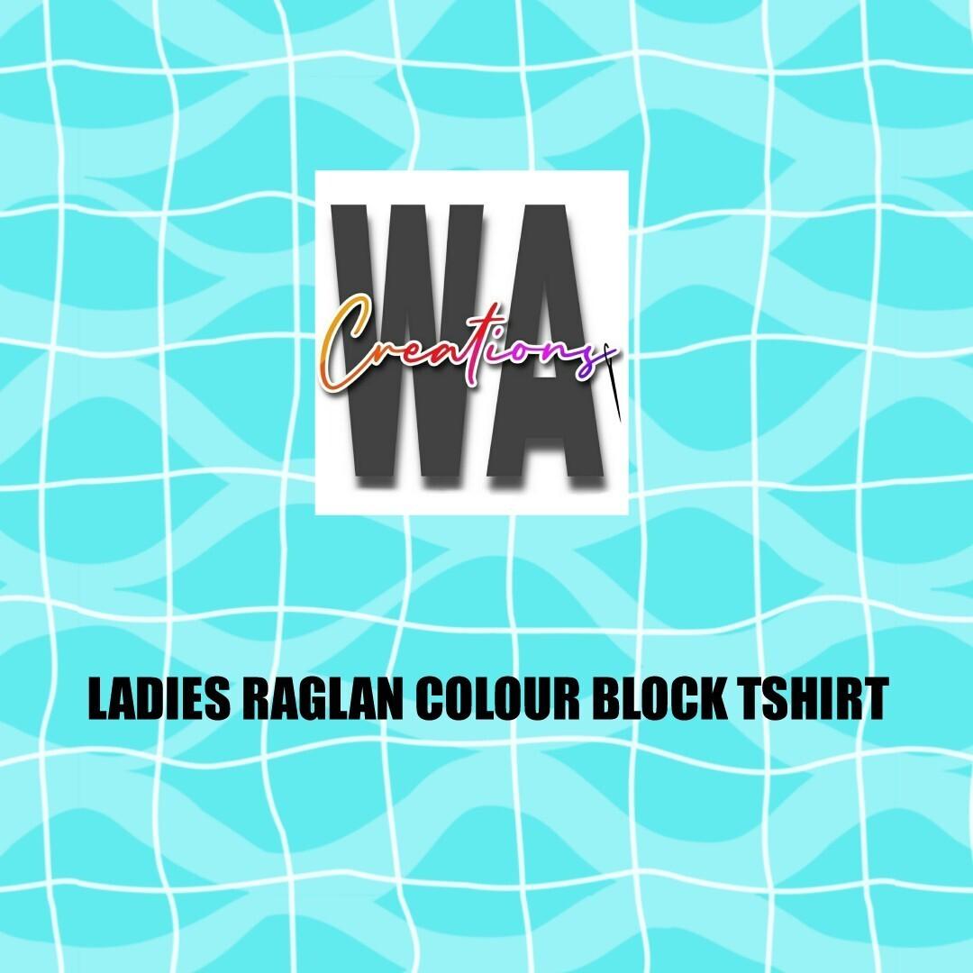 Ladies Colour Block Tshirt