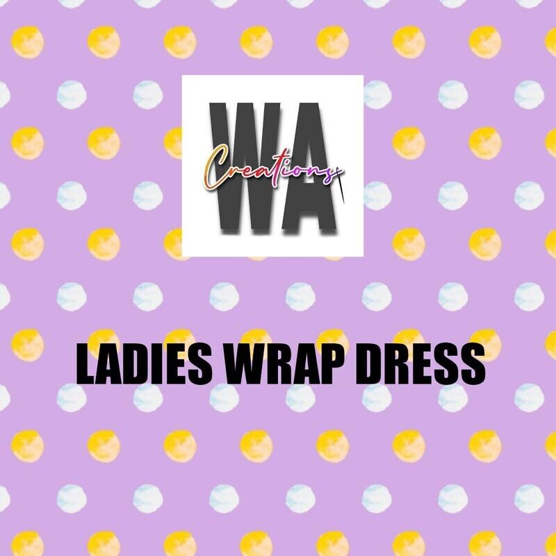 Ladies Wrap Dress