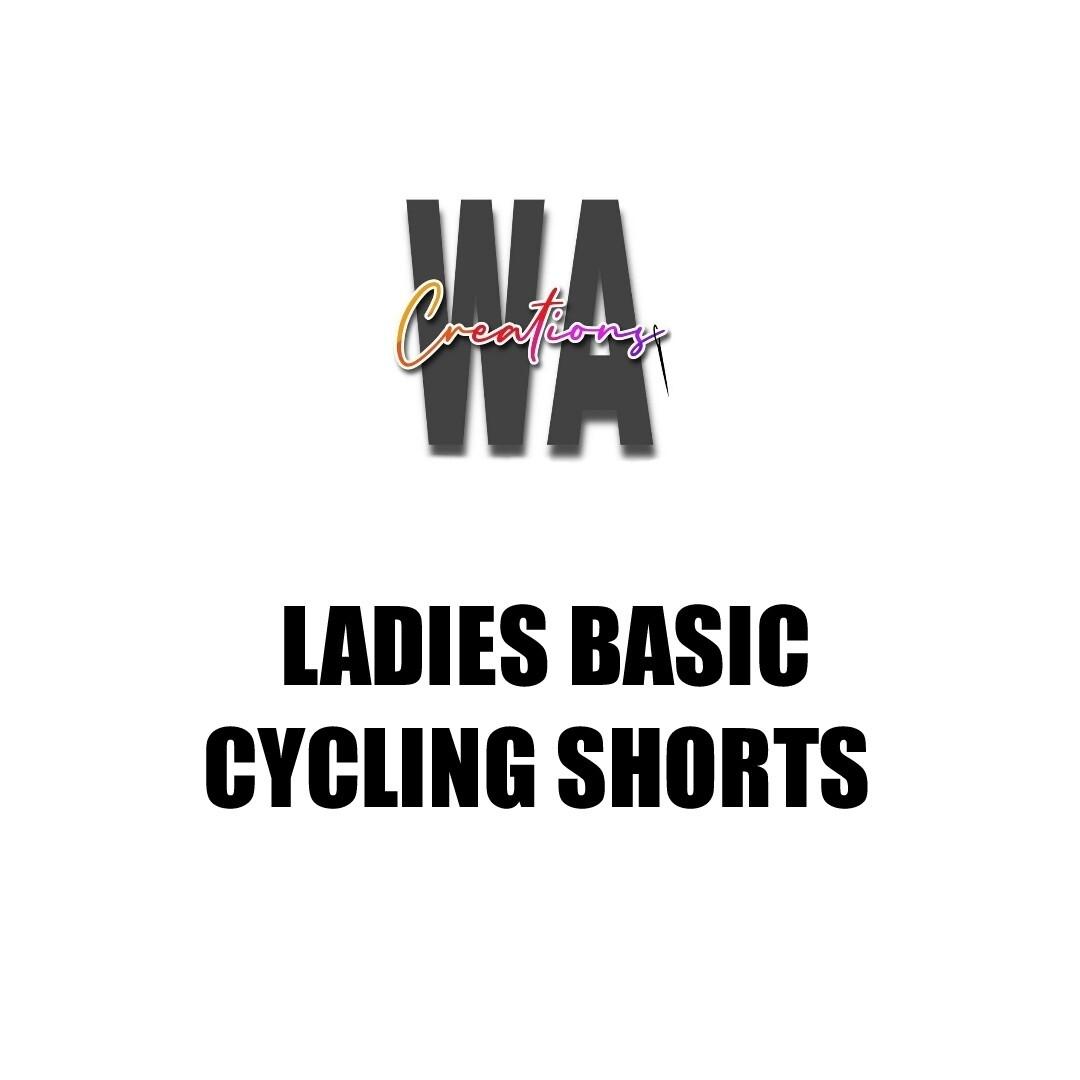 Ladies Basic Cycling Shorts