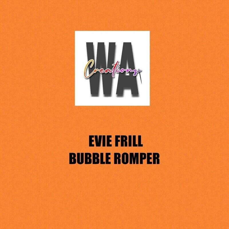 Evie Frill Bubble Romper