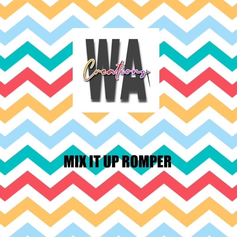 Mix it up Romper