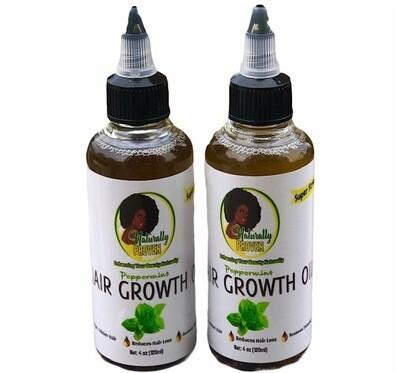 Peppermint Hair Growth Oil - Super Strength