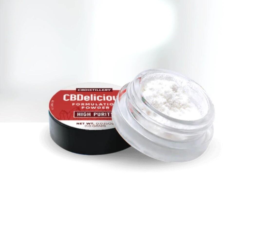Isolate Powder (0% THC) CBDelicious