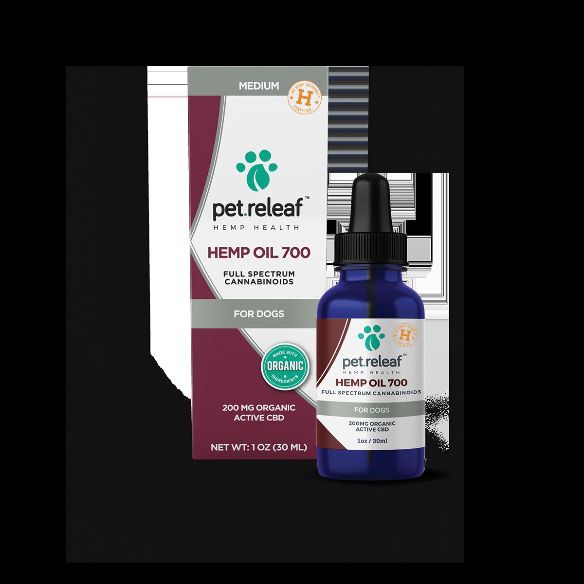 Pet Releaf Dog Hemp Oil