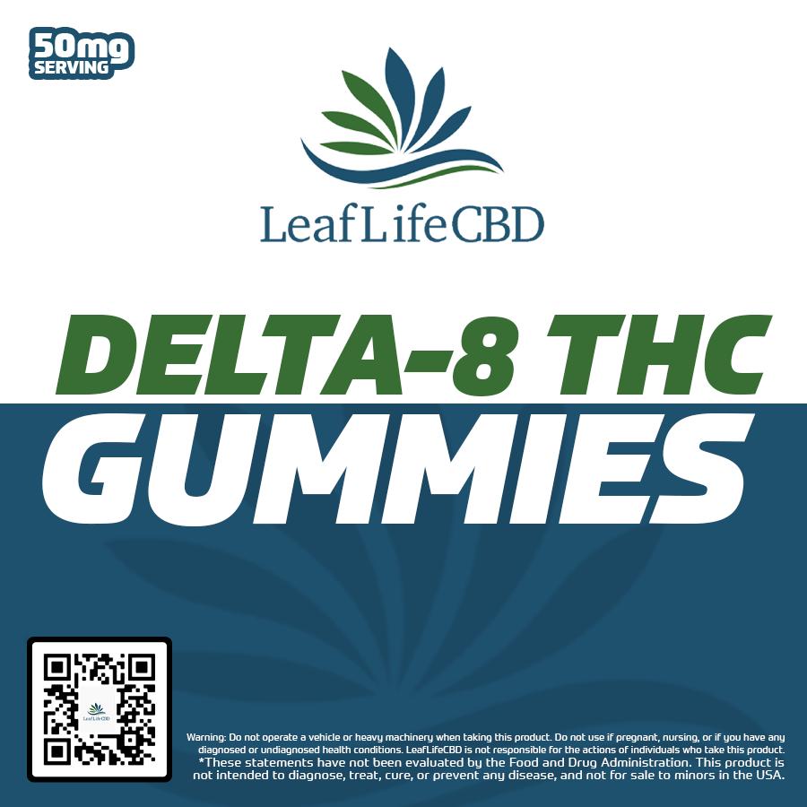 LeafLife D8 Gummies