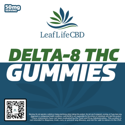 LeafLife D8 Gummies