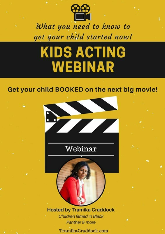 Kids Acting Webinar - (Pre-Recorded)