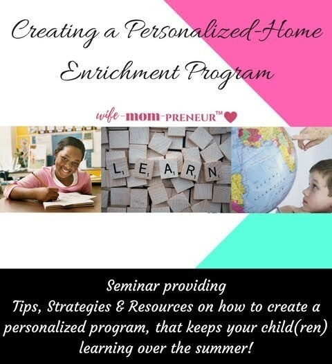 Creating a Personalized Home Enrichment Program Seminar
