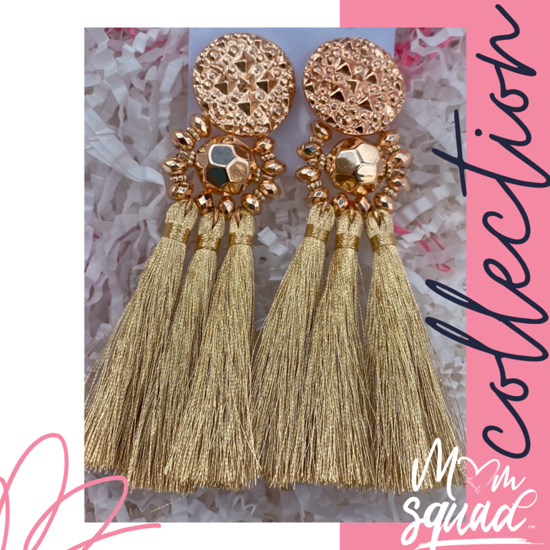 Golden Nights- (Gold) Mom Squad Earring Collection