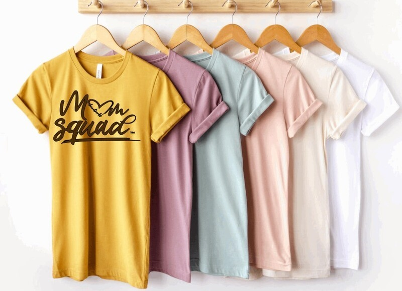 Mom Squad Collection Shirt