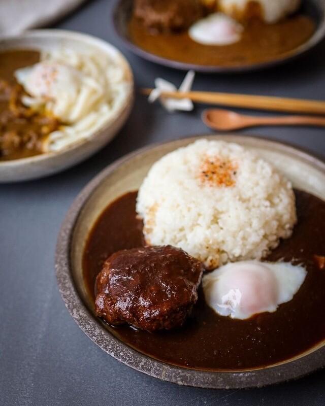 Frozen 100% Premium Wagyu Beef Hamburger Steak with Curry