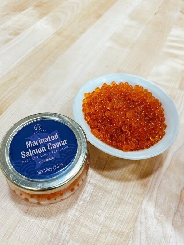 Frozen Marinated Salmon Caviar